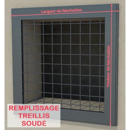 Remplissage Treillis soudé