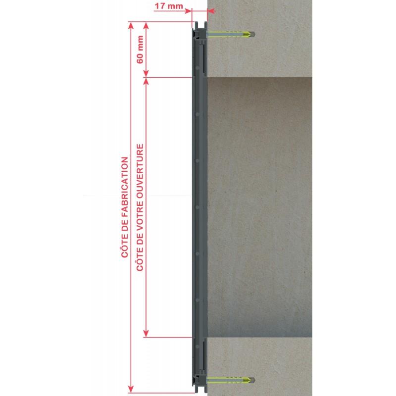 grilles pose en applique alubatiservice. Black Bedroom Furniture Sets. Home Design Ideas